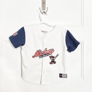 Disney Mickey Mouse Baseball Jersey